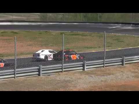 Landon Rapp Charlotte Motor Speedway Fifth Mile INEX Bandolero Bandit Feature 4/1/17