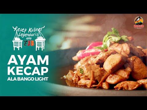 Resep Ayam Kecap ala Bango Light