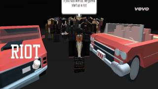2 Chainz-Riot ( Offizielles Roblox Musikvideo )