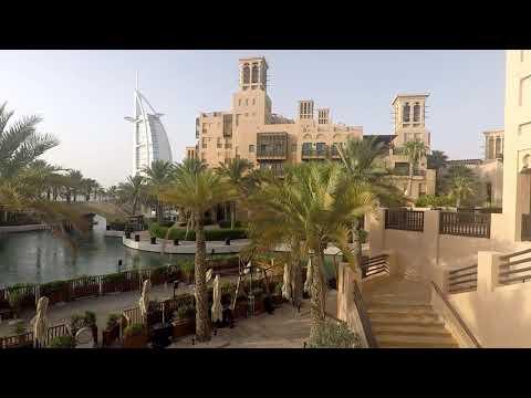 Highlights of Madinat Jumeirah and Burj Al Arab in Dubai, United Arab Emirates