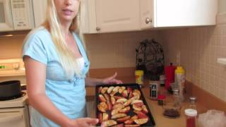 Baked Bbq Chicken With Spicy Potatoes *easy Recipe For Two