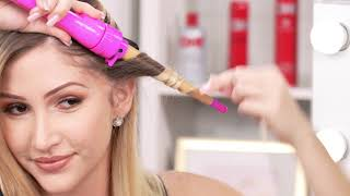How to use the CHI Pink Interchangeable Curling Iron