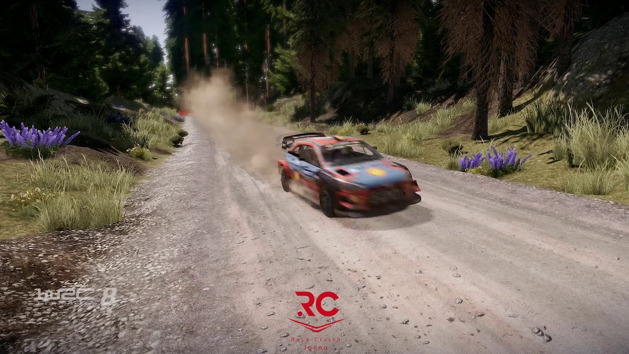 WRC 8 WORLD RECORD - Finland - Horkka - Default Setup