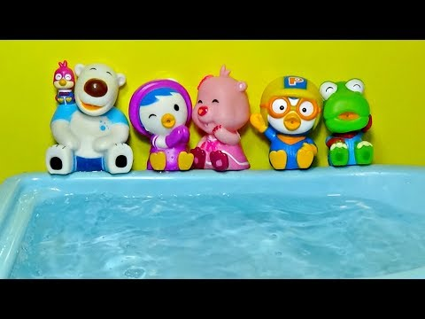 Five Little Pororo Jumping On The Pool │ Five Little Monkeys Jumping On The Bed │ Happykids