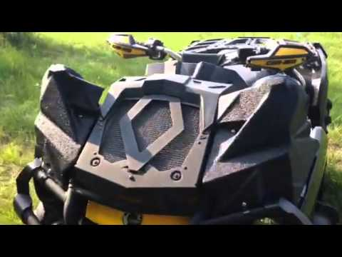 Can Am Outlander 1000 Xmr >> Can Am Outlander XMR 1000 radio - YouTube