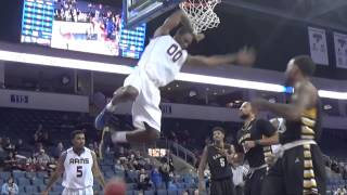 Demario Mayfield #SCtop10 Dunk in Lone Star Conference Championship semifinals
