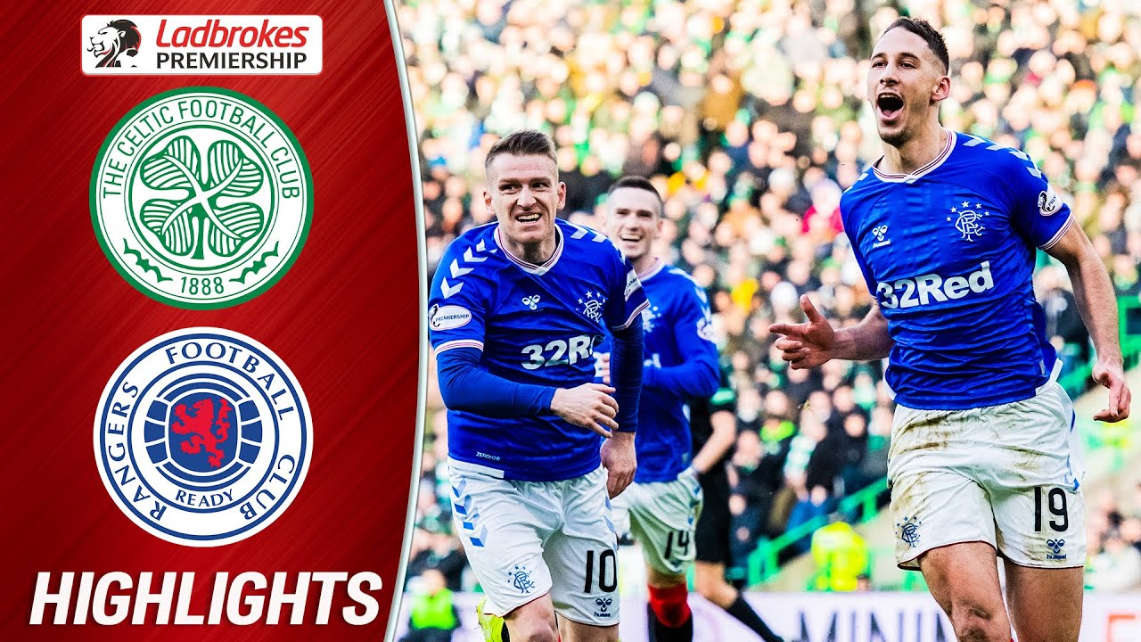 Download Celtic 1-2 Rangers   Katić Header Gives 'Gers Win in Old Firm Classic   Ladbrokes Premiership