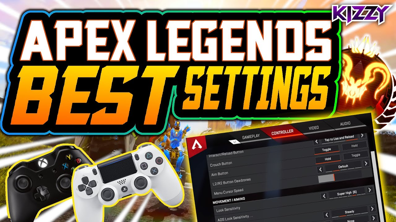 APEX LEGENDS BEST CONTROLLER SETTINGS 2020 | Detailed Settings Guide (PS4/Xbox/PC)