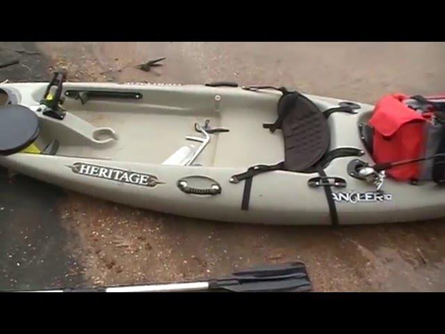 Heritage Angler 10 Kayak Review