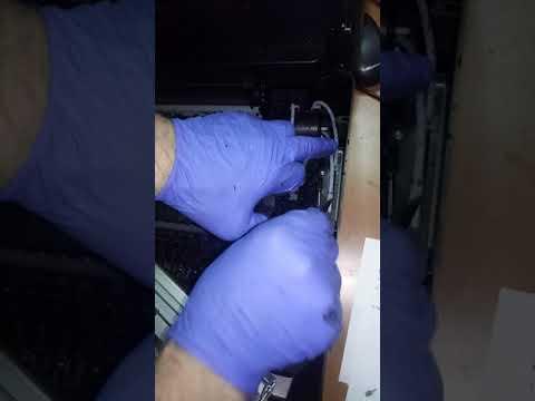 Лекция из мастерской: Прочистка помпы на принтере HP 5525, 3625 и т.д. (2 часть)