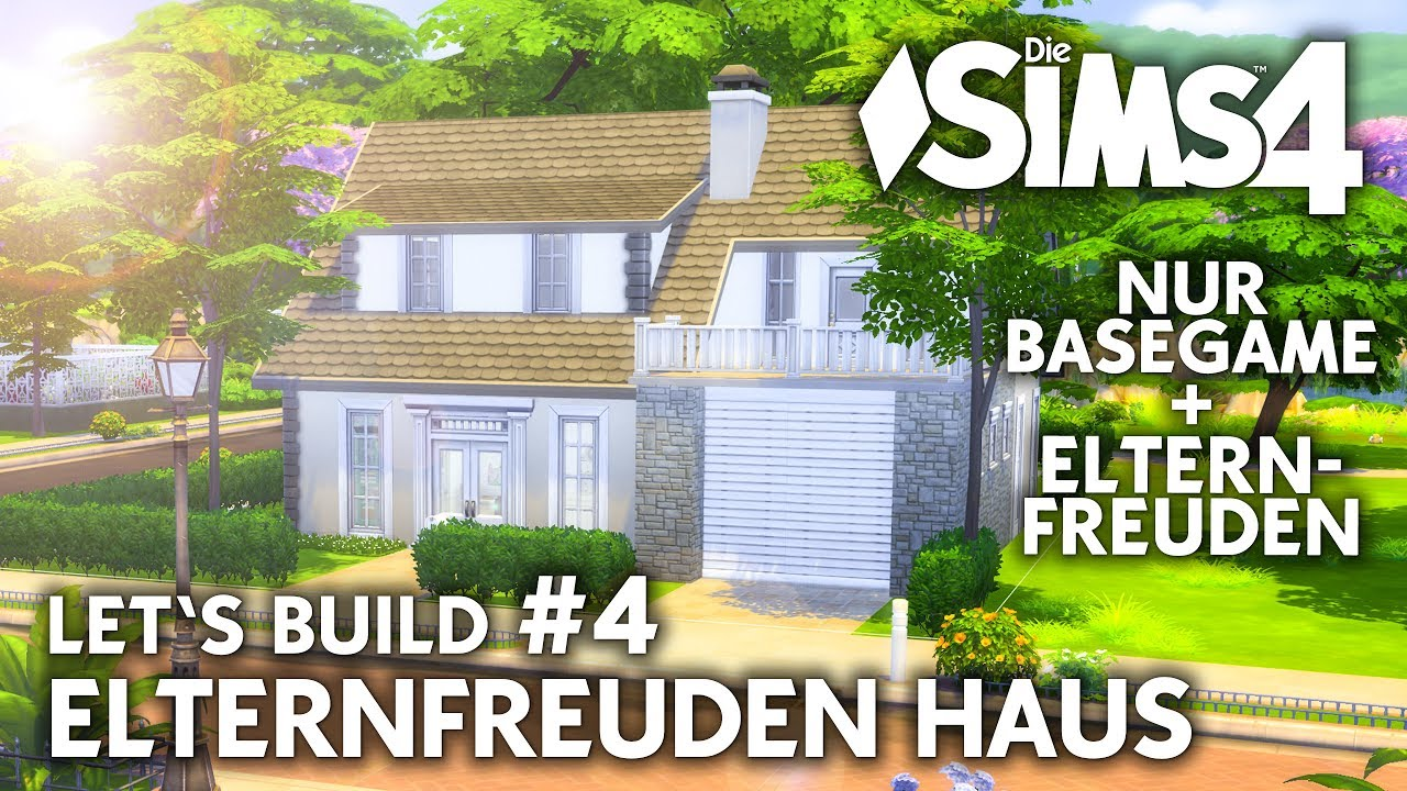 die sims 4 haus bauen elternfreuden familienhaus 4 waschk che deutsch youtube. Black Bedroom Furniture Sets. Home Design Ideas