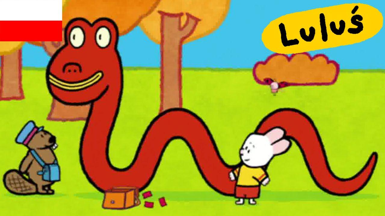 Luluś - Narysuj mi potwora z Loch Ness  S03E02 HD // Kreskówki dla dzieci