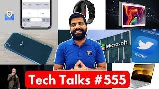 Tech Talks #555 - Twitter Followers, Zenfone Live L1, GBoard Morse Code, Moto E5 Play, Galaxy J6+