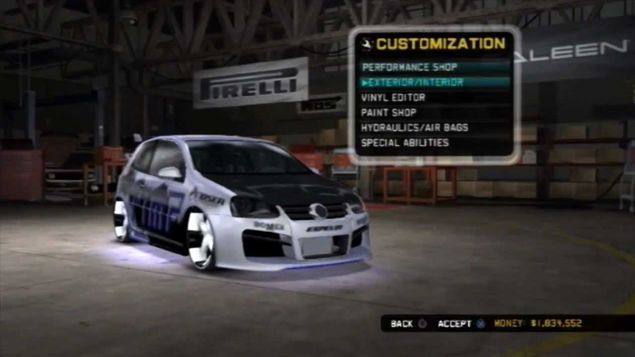 MIDNIGHT CLUB LOS ANGELES CUSTOM CARS HD YouTube