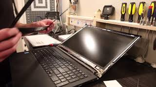 Laptop screen replacement / How to replace laptop screen Acer Aspire V Nitro VN7-591G-792U