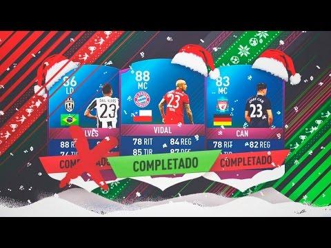 EMRE CAN, DANI ALVES Y ARTURO VIDAL SBC!!!! | FIFA 17