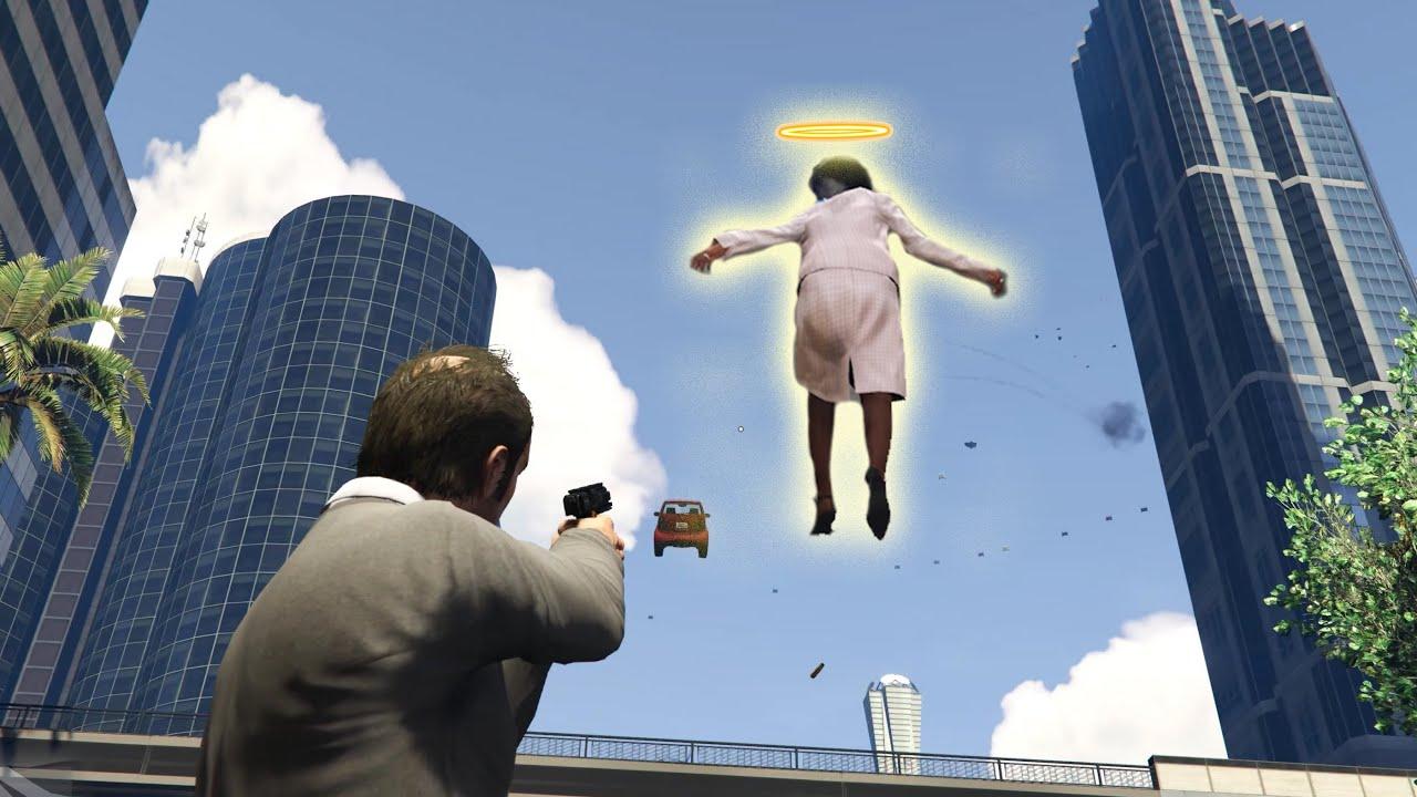 Înviem Oameni Random de Paște - Frătzică Gaming GTA V