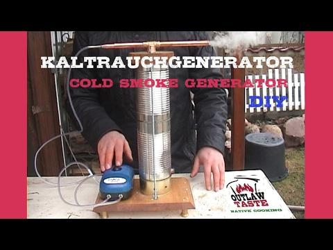 kaltrauchgenerator selbst gebaut r uchern smoken cold smoke generator prototyp youtube. Black Bedroom Furniture Sets. Home Design Ideas