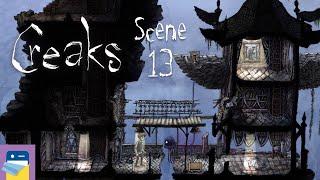 Creaks: Scene 13 + Painting Walkthrough & iOS Apple Arcade Gameplay (by Amanita Design)