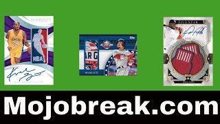 Saturday Sports Card Breaks Live w/ MOJOBREAK thumbnail