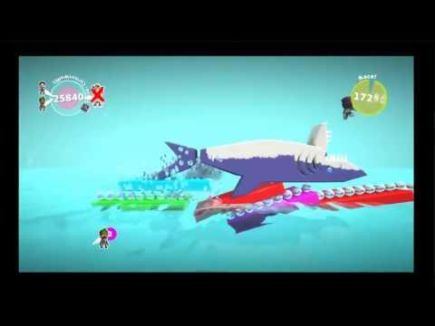 Sharks eats my a**hole (Little Big Planet 3 Highlights)