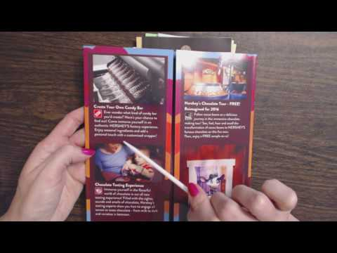 ASMR ~ Pennsylvania Pamphlet Reading / Show & Tell (Hershey, Amish, Trains, Etc.)