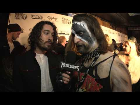 RED SUN RISING Interview, Revolver Music Awards Black Carpet 2016 | MetalSucks