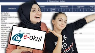 E-OKUL NOTLARIMI İNCELEDİM !   Fenomen Tv