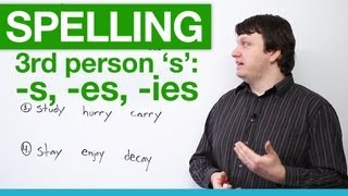 Spelling - Rules for Third Person