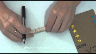 How To Make A Easy Door Knob Chore Chart