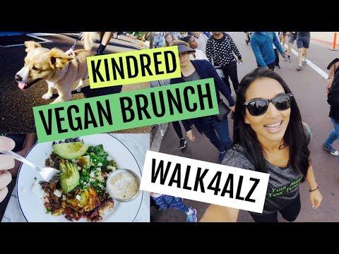 WALK4ALZ + VEGAN BRUNCH at Kindred