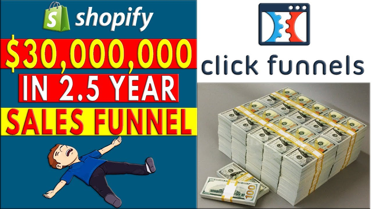 Clickfunnels Success $30 MILLION In 2.5 Year Sales Funnel
