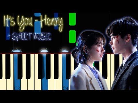 It's You Piano Henry [While You Were Sleeping OST 2] 당신이 잠든 사이에 피아노 헨리 커버 Tutorial Sheet Music