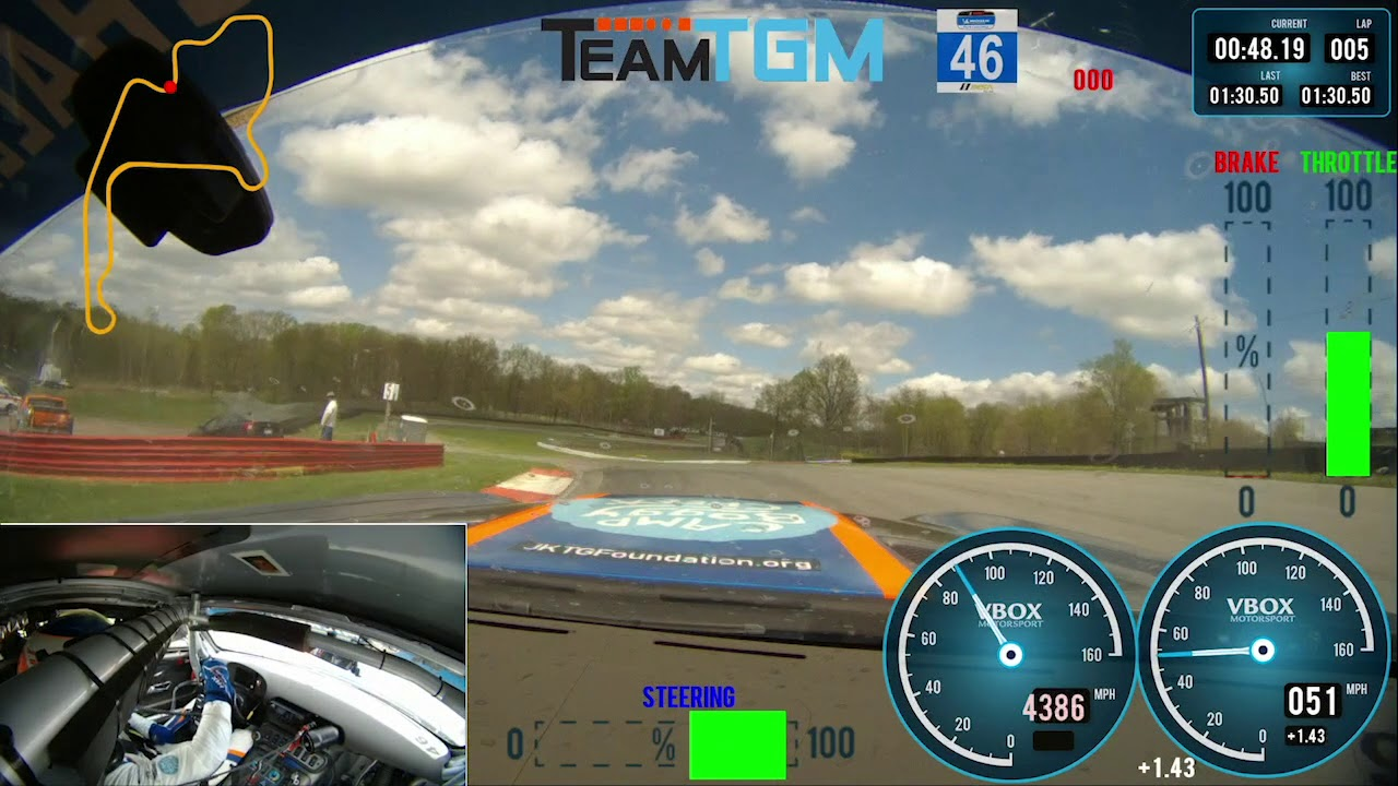 A Lap Around Mid-Ohio Sports Car Course - IMSA Michelin Pilot Challenge - Motor Informed