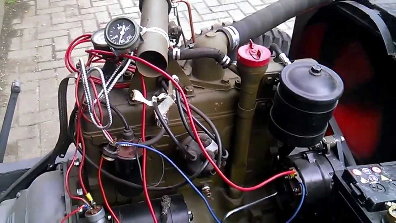medium resolution of 1946 willys jeep wiring wiring diagram centre 1946 willys jeep cj2a engine run youtube