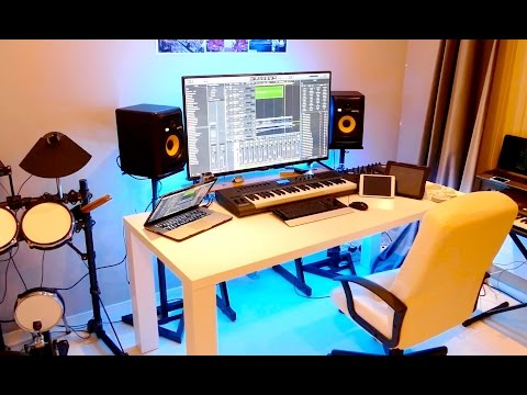 NEW HOME RECORDING STUDIO TOUR (2015)