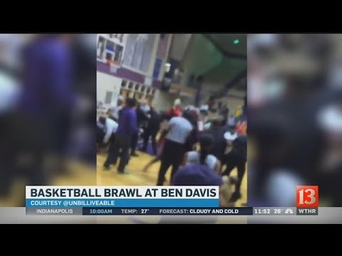 Fight breaks out at Pike-Ben Davis girls basketball game
