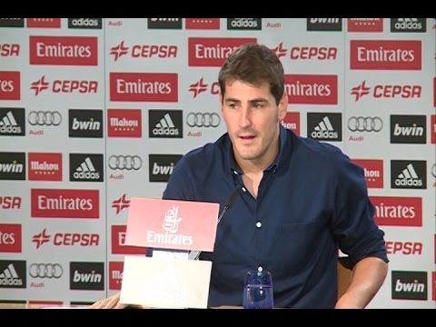 "Iker Casillas says goodbye: ""I will shout Hala Madrid!"""