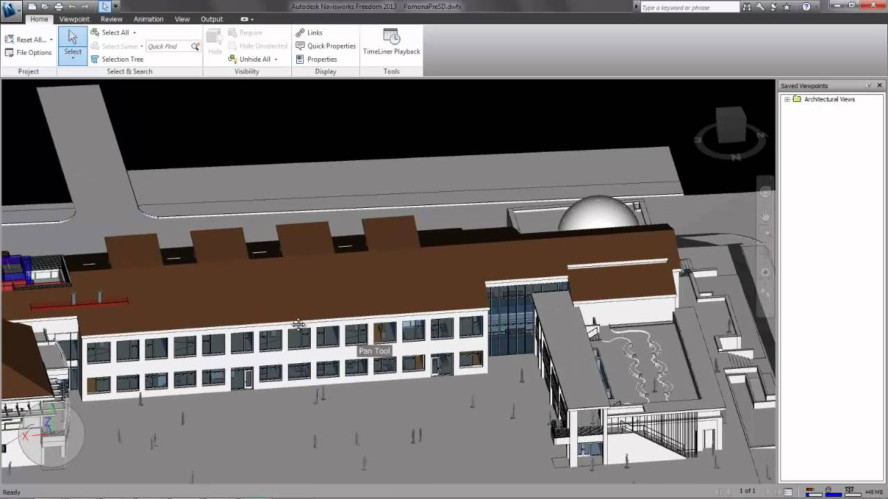 How to Use Navis Freedom Viewer to review Revit Models