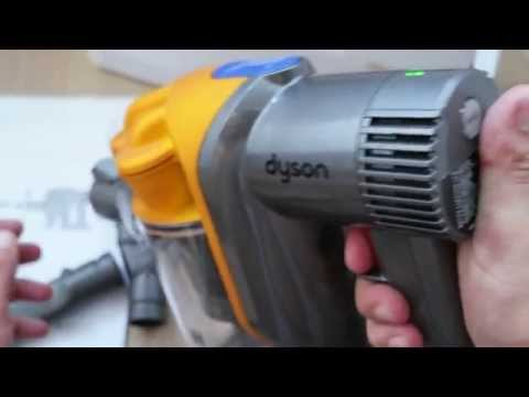 dyson dc43h handheld vacuum cleaner youtube. Black Bedroom Furniture Sets. Home Design Ideas