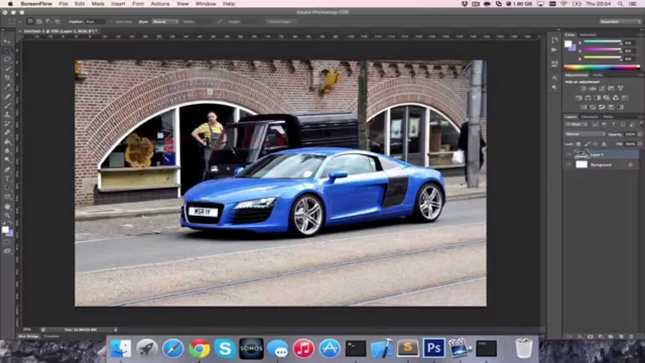 Colour changing car technology - How To Change Colour Of A Car In Photoshop Cc Cs6 Hd 4k Tutorial Guide 2017 Youtube