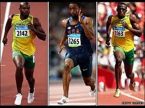 TYSON GAY BEATS USAIN BOLT 100M