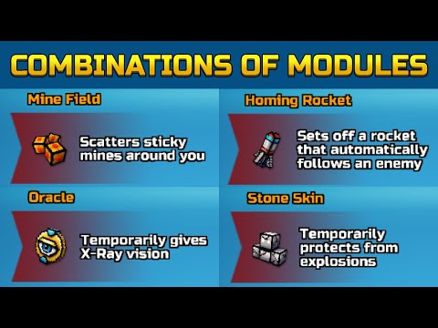 All The Right Modules Combination | 18 Combinations! (Guide) | Pixel Gun 3D