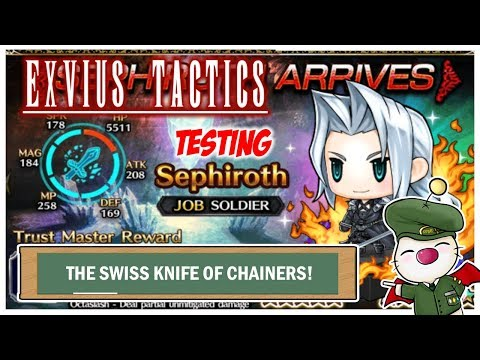 FFBE Global - Testing Sephiroth - SWISS KNIFE OF CHAINERS