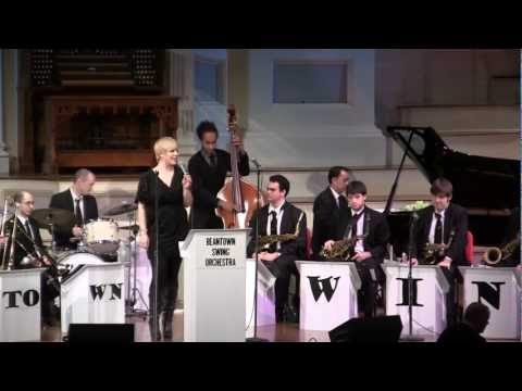 """I'll Be Home For Christmas"" - Erika Van Pelt with Beantown Swing Orchestra 11/28/12"