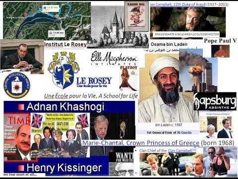 Rosey School Swiss Alps Bin Laden, Kaiser Bill, Rothschild Borgese POPES  King Juan Carlos, Bedouins