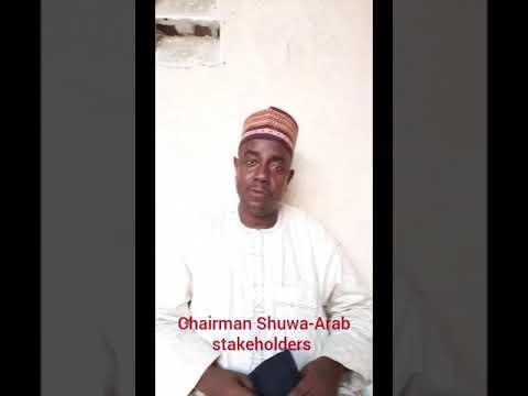 Sale Ali Sale  Shuwa Arab Chairman