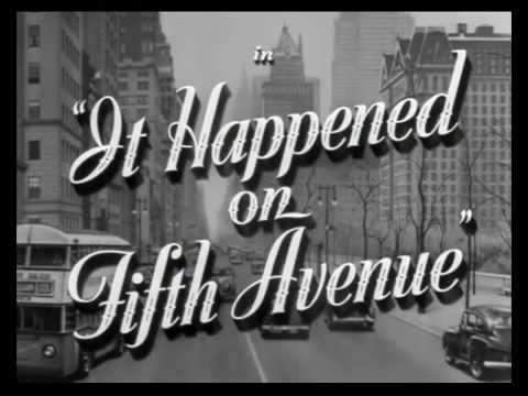 It Happened on Fifth Avenue Trailer