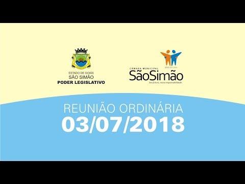 REUNIAO ORDINARIA 03/07/2018