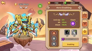 Idle Heroes - NEW Faith Blade 11 Star + Tower Of Oblivion 494 - 502